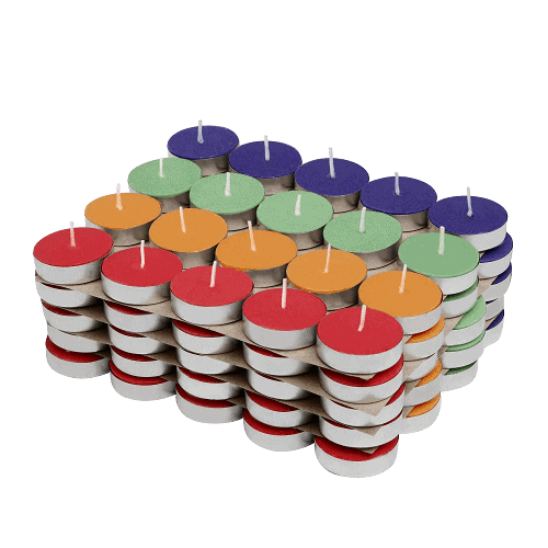 Amazon_Brand_-_Solimo_Colored_Wax_Tealight_Candles__Set_of_100__Unscented__-removebg-preview (1)