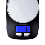 HealthSense Kitchen Weighing Scale Pleasant Illumination