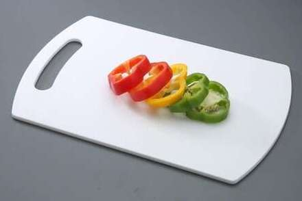 All Time Plastics Chopping Board, 37cm, White